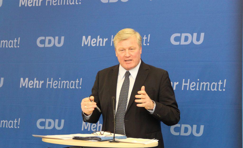 Bernd Althusmann, Landesvorsitzender der CDU in Niedersachsen