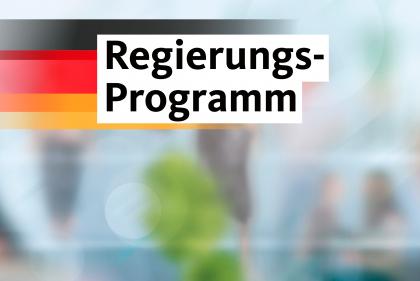 Regierungsprogramm der CDU in Niedersachsen.