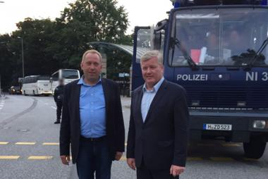 Thomas Adasch MdL und Dr. Bernd Althusmann
