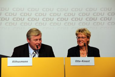 Bernd Althusmann und Barbara Otte-Kinast