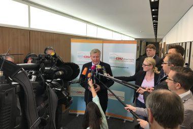 Bernd Althusmann zum Vorsitzenden der CDU-Landtagsfraktion gewählt