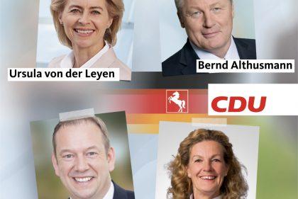 Vier Niedersachsen Fur Den Cdu Bundesvorstand Nominiert Cdu In