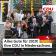 Im Foto stehen Dr. Bernd Althusmann und Kai Seefried gemeinsam mit Mitarbeiterinnen und Mitarbeitern der CDU in Niedersachsen auf einer Treppe. Sie pusten in Luftschlangen, die sie in ihren Händen halten. Der Schriftzug in der unteren Bildhälfte besagt: