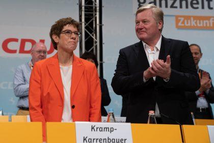 Annegret Kramp-Karrenbauer und Bernd Althusmann - Ursula von der Leyen und Bernd Althusmann - Landesparteitag 2019
