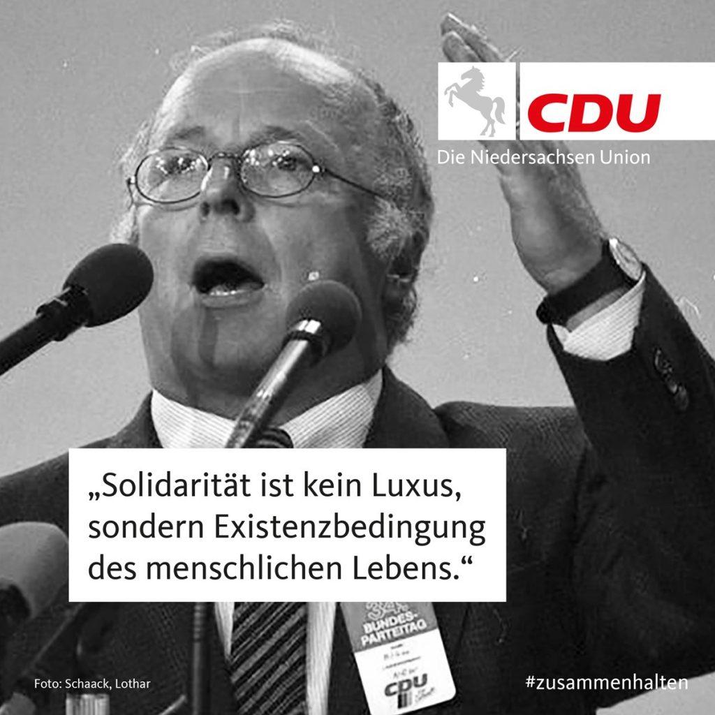 Die Niedersachsen-Union  | CDU In Niedersachsen
