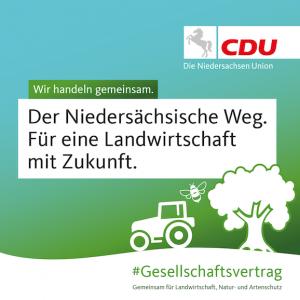 Althusmann: Niedersächsischer Weg ist eine tragfähige Brücke zwischen Land- und Forstwirtschaft und Arten-und Naturschutz
