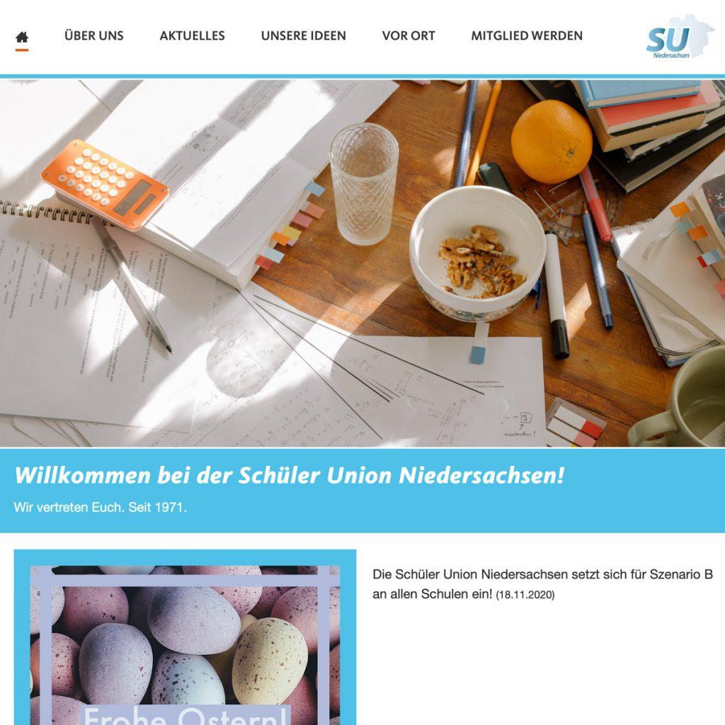 SU Internetseite