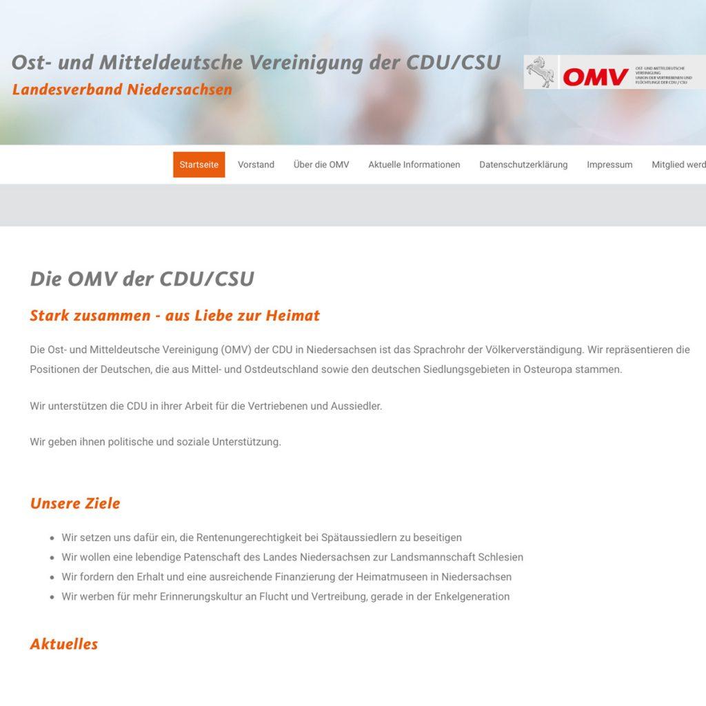 OMV Internetseite