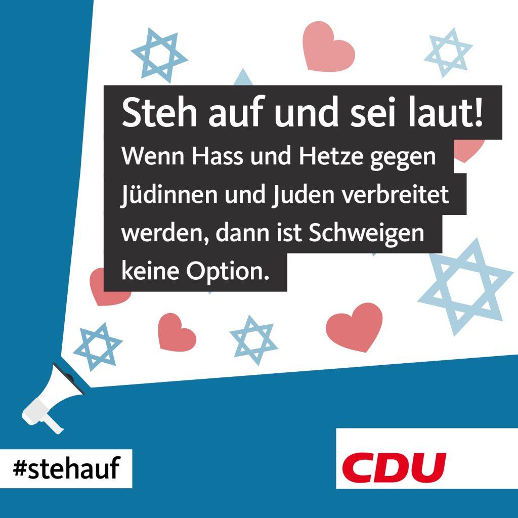 Althusmann: Wir setzen ein Zeichen gegen Judenhass & Hetze